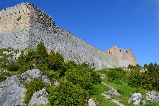 Montsegur, Francia: Le château