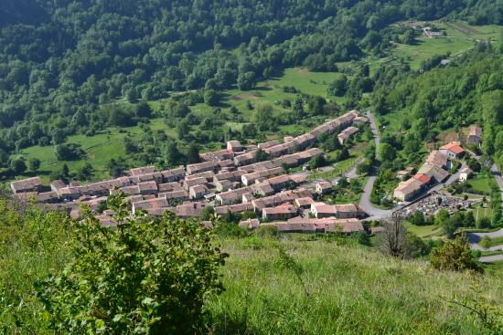 Le village de Montsegur