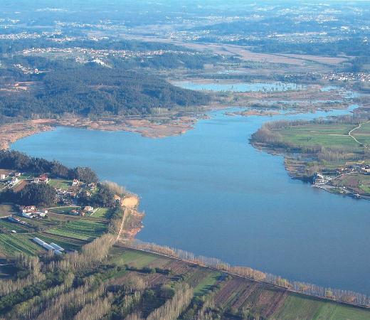 Agueda, البرتغال: A Pateira é uma das maiores lagoas naturais da Península Ibérica.