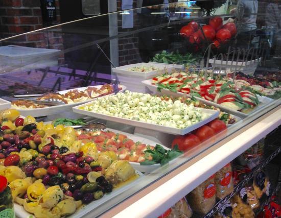 Joe Leone's Italian Specialties : Antipasti Counter