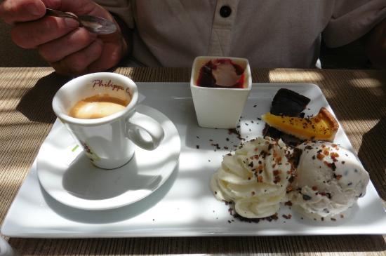 Le Patio : café gourmand