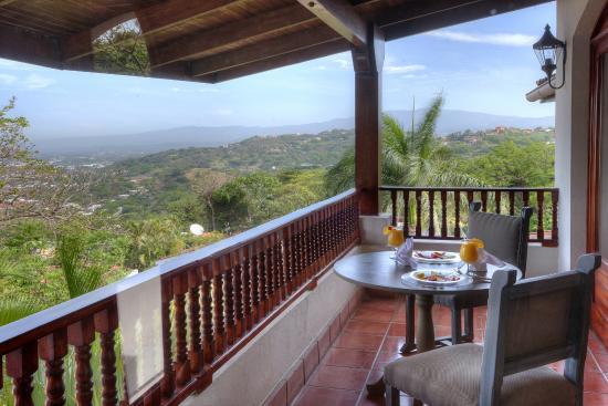 Hotel Alta Las Palomas: private balcony