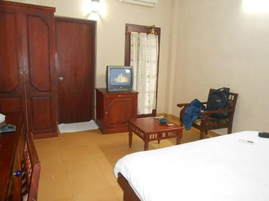 Bedroom at Pagoda Resorts Alleppey