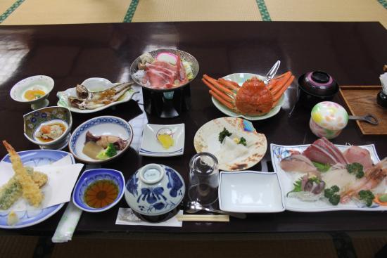 Shikishimaso: 夕食
