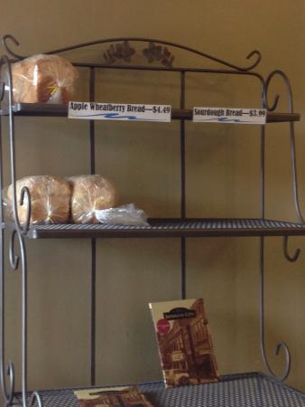 The Creek Cafe: Home made Bread