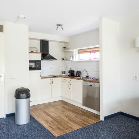 WestCord ApartHotel Boschrijck: Keuken incl. vaatwasmachine, combi oven-magnetron, inductie kookplaat, nespresso machine