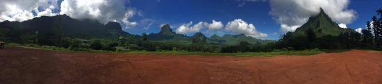 Moorea, Fransk Polynesia: Views
