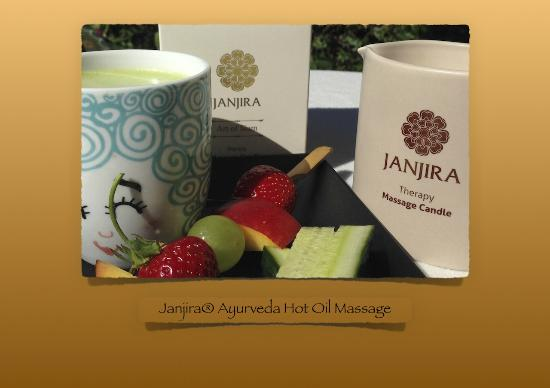 Frederiksberg, Δανία: Janjira® Ayurveda Hot Oil Full Body Massage