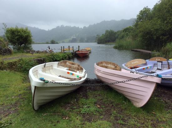 Thorney How: Grasmere boats