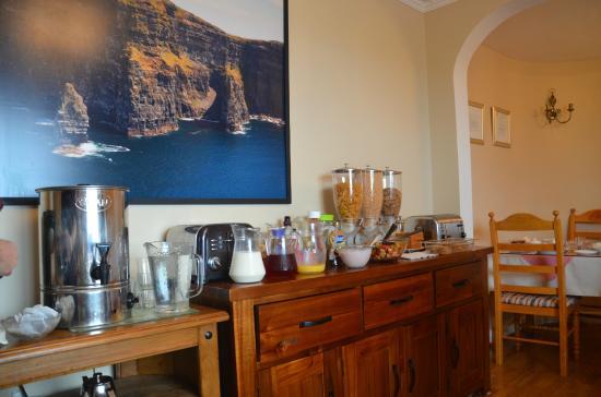 Glasha Meadows: Frühstücksbuffet