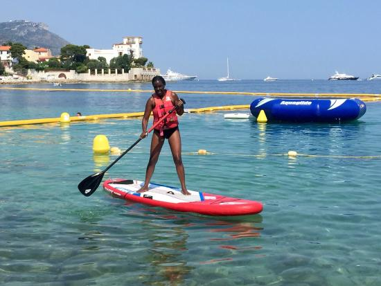Cap Ferrat Watersports : My first time on the Kayak was AWESOME...thanks to the wonderful and super friendly people who w