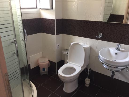 Catherine Hotel : Yenilenmiş, balkonsuz 3 kişilik oda ve banyosu