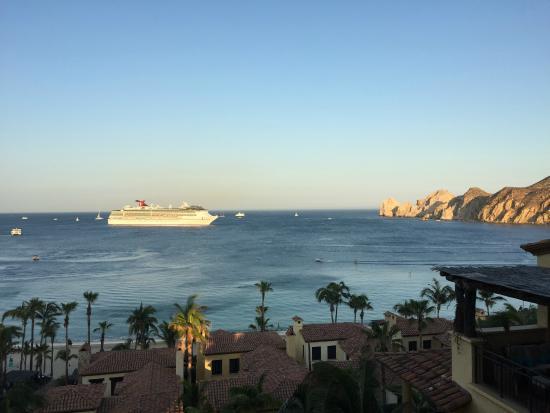 Hacienda Beach Club & Residences: View from front balcony