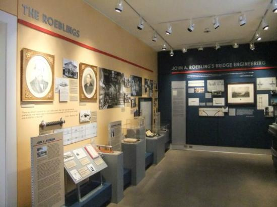 Roebling Museum: Exhibit space