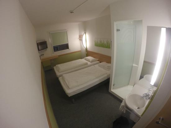 Ibis Budget Mainz Hechtsheim: Bedroom