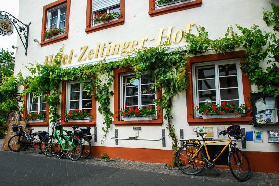 Zeltinger Hof : Bike friendly hotel bild från zeltinger hof zeltingen