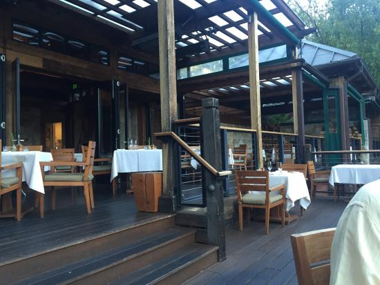 The Lakehouse Restaurant At Calistoga Ranch Image