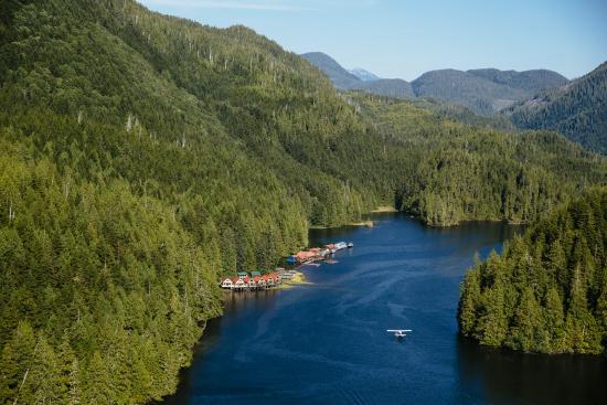 Nimmo Islet, Канада: Fly-in resort: Arrive by floatplane