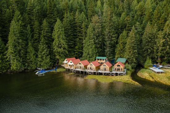 Nimmo Islet, Канада: 6 intertidal cabins