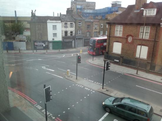 Travelodge London Greenwich : the view from my room