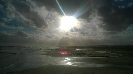 Por do Sol em Cabo Polonio