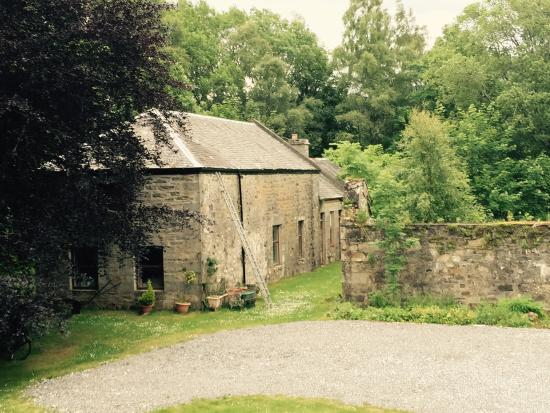 The garden shed dunalastair house and tina 39 s lovely for Garden shed tripadvisor