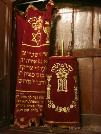 Aben Danan Synagogue : Torah from 1710