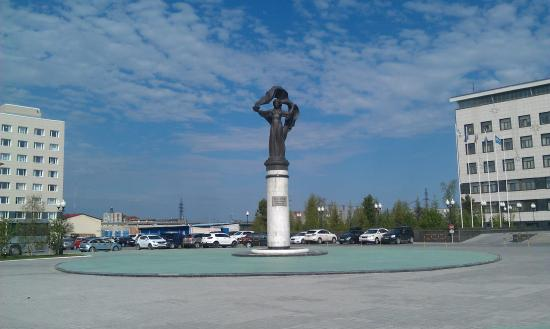 Monument to the Pioneers of Urengoy