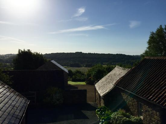 South Wingfield, UK: View from the cottage