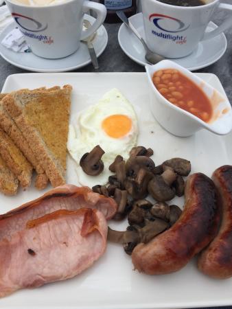 Multiflight Cafe: Fantastic Breakfast