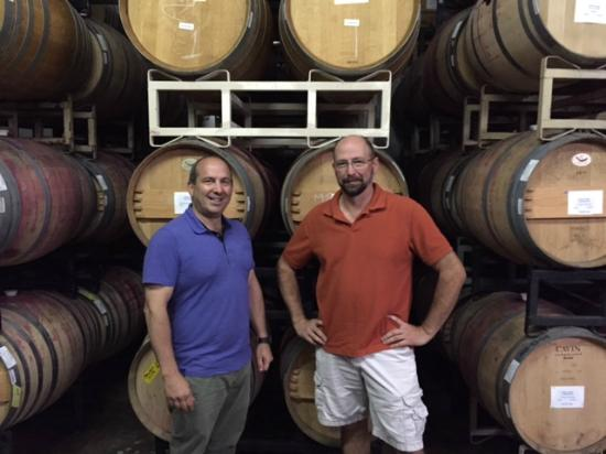 Virginia Wineworks: Owner Michael Shaps with Head Winemaker Jake Busching