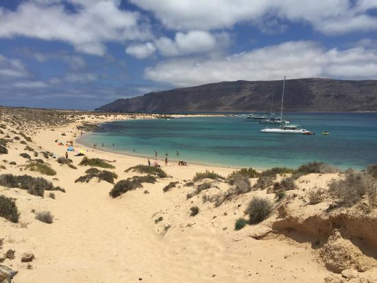 Isla de Graciosa, Spain: Espectacular!! Sin palabras...
