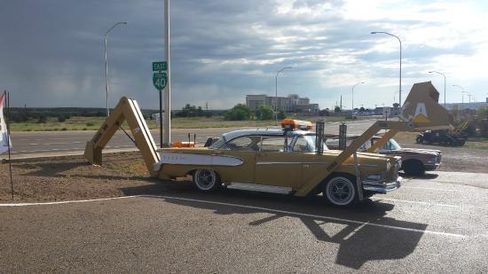 Classic Car On Pole Picture Of Route Auto Museum Santa Rosa