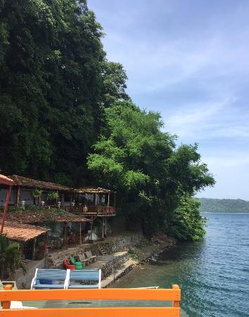 Posada Ecologica la Abuela: view from jump dock