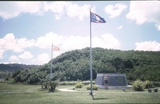 Sapphire: Guam är strategiskt viktigt för USA som har flyg- och flottbaser på ön.