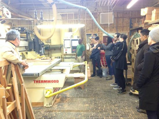 Turnstile Tours: A Visit To Scott Jordan Furniture On A Brooklyn Navy Yard  Inside Industry