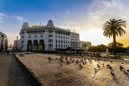 Algiers, Aljazair: La Grande Poste d'Alger