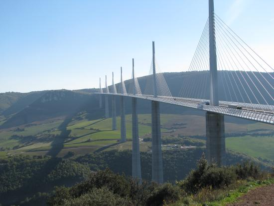 millau viaduct The millau viaduct response to wind action • the response to wind action is at  the heart of the design of long span bridge structures and their.