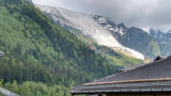 Pierre & Vacances Residenz La Rivière: Vista del Glaciar desde la habitación
