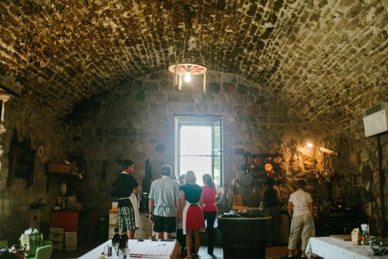 Ecco La Cucina: The 900-yr-old Flour Mill where we had our cooking class