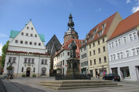 The Luther Memorials in Eisleben and Wittenberg