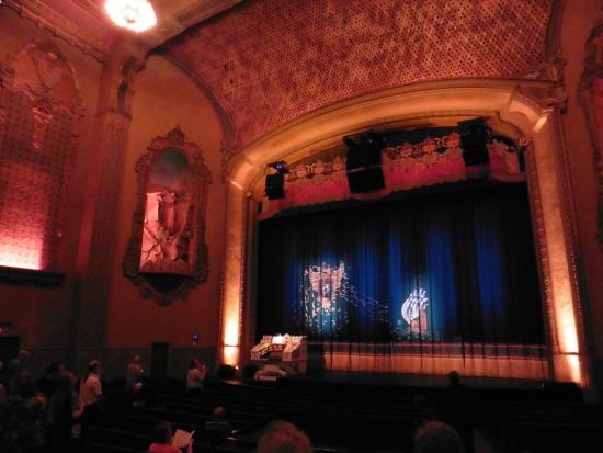 Balboa Theatre Inside Stage And Wall Art Waterfalls One On Each Side Of