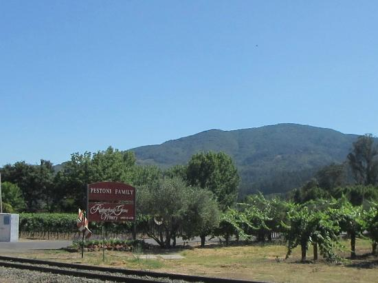 Pestoni Family Estate Winery: Rutherford Grove Winery & Vineyards, St. Helena, Ca