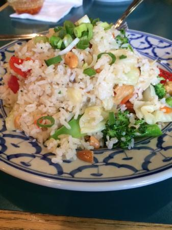 Pad Thai: Thai Fried Rice (Vegetarian) = note* they have used minimum oil and best quality vegetables