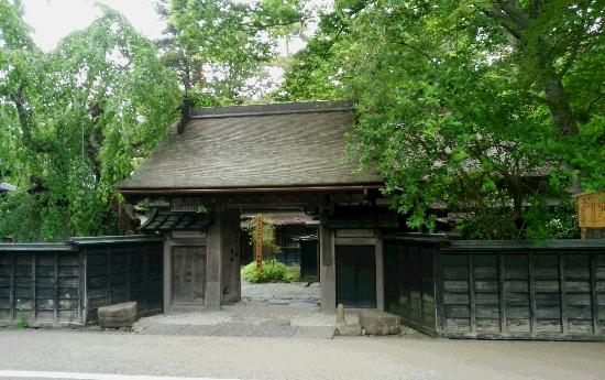 Aoyagi Samurai Manor Museum : 薬医門