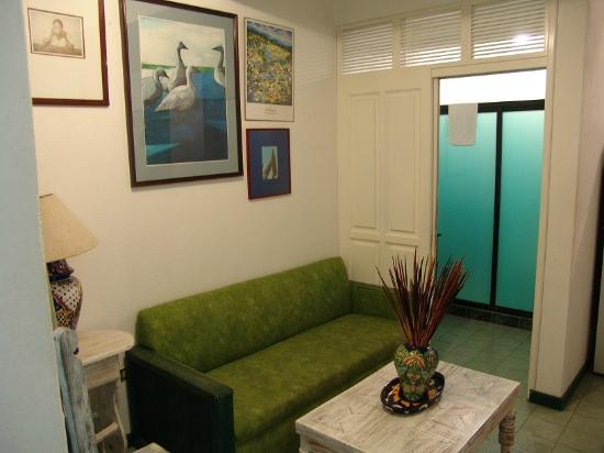 Casa de los Soles: Sala complementaria de la suite