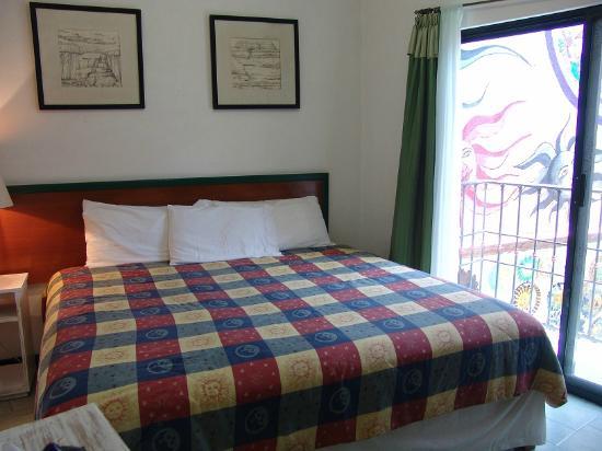 Casa de los Soles: Habitacion con cama king size