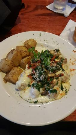 Cities Grill & Bar: TUSCAN Chicken, delicious but rich. One of my favorites.