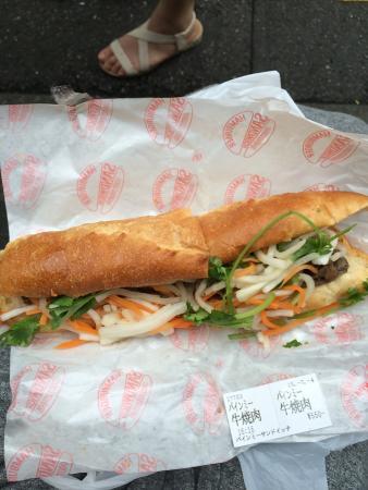 banh mi Sandwich