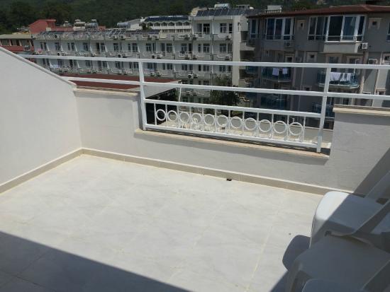 Endam Hotel: Балкон